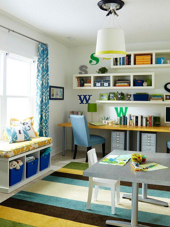 Ideas disenar y decorar una oficina en casa 49 decoracion de interiores fachadas para casas - Decorar oficina en casa ...