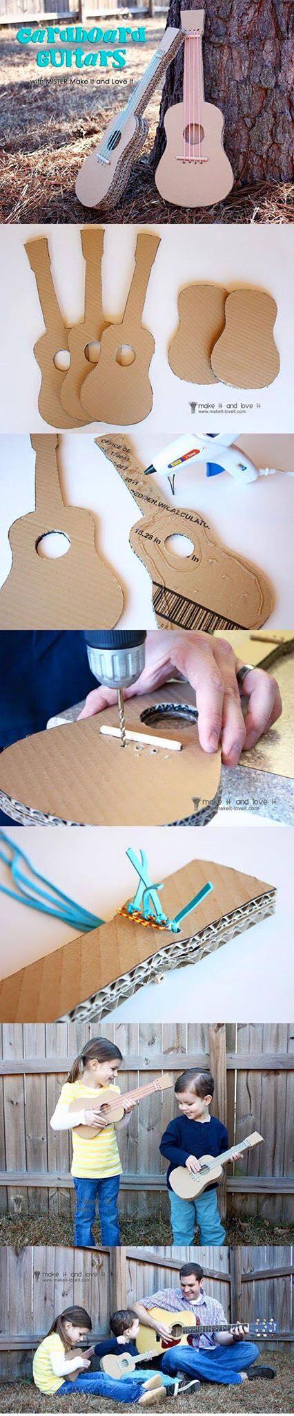 Ideas para hacer juguetes reciclando cajas de carton