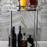 Ideas para decoración de interiores - Bar portátil