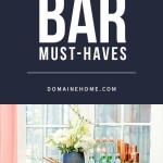 Ideas para decoración de interiores - Bar portátil