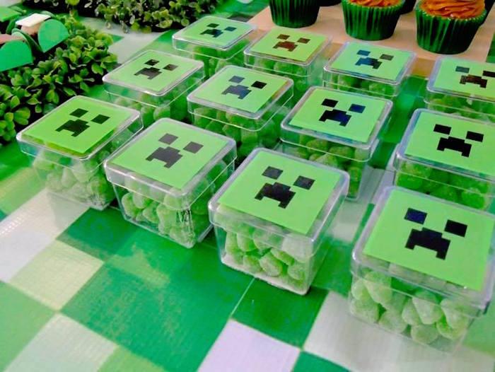 ideas-para-mesa-de-postres-minecraft (3) | Decoracion de interiores ...