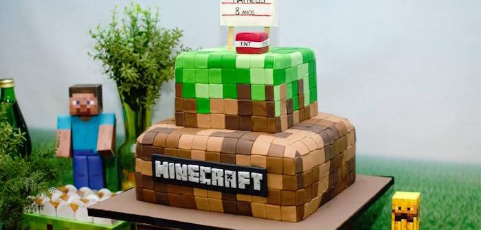 Ideas para Fiestas de MineCraft