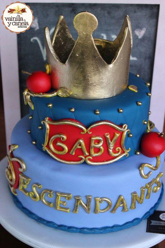pastel para fiesta de descendientes