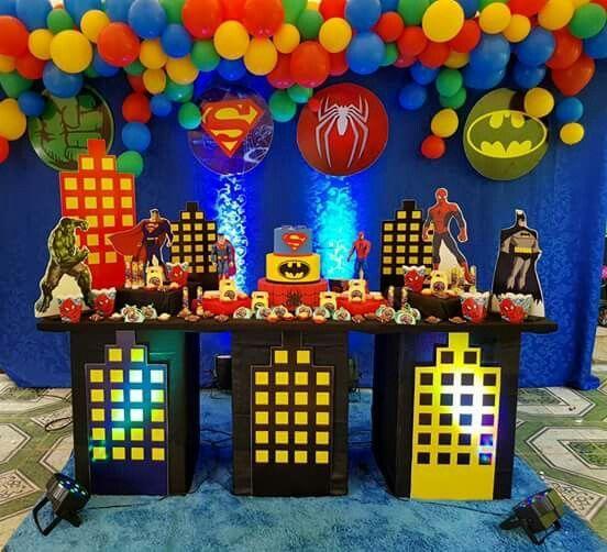 que temas hay para fiestas de niños de 7 y 8 años
