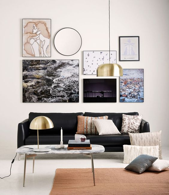 Decoracion de salas modernas como decorar tu sala este 2018 for Salas de bano modernas