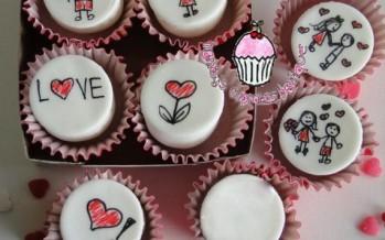 Cupcakes – bollitos – quequitos de san valentin – 14 de febrero