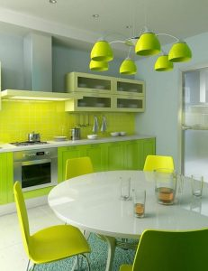 Ideas para decoracion color verde manzana