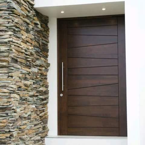 Diseno de puerta principal 2 como organizar la casa - Puertas de entrada de diseno ...