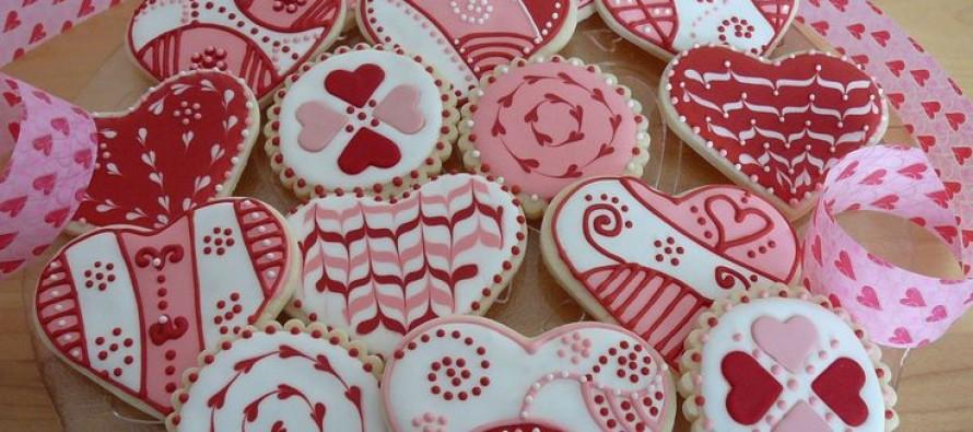 Galletas para el dia del amor y amistad