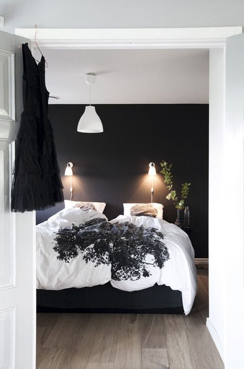 Ideas para decoracion en color negro