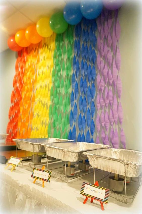 Ideas para fiesta de plaza sesamo 18 como organizar la - Ideas decoracion fiestas ...