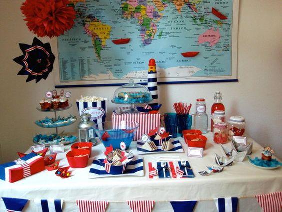 Ideas para fiestas de piratas decoracion de interiores - Ideas para fiestas en casa ...