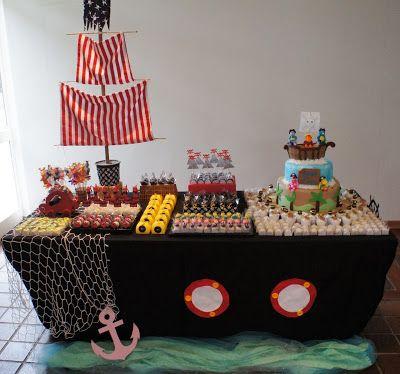 Ideas para fiestas de piratas 12 decoracion de for Decoracion barcos interiores