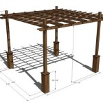 Ideas y planos para diseño de pergolas