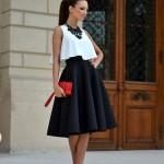 outfits con falda