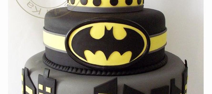 Pasteles para fiesta de batman