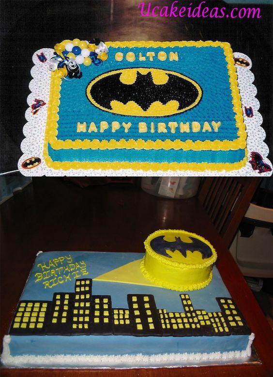 Pasteles Fiesta Batman 3