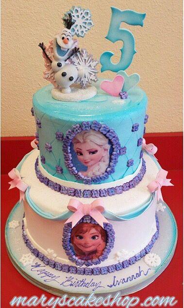Pasteles Para Fiestas Cumpleanos De Frozen 11 Como