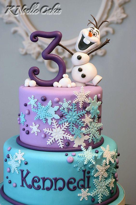 Pasteles para fiestas cumpleanos de frozen 21 - Menu para fiesta de cumpleanos en casa ...
