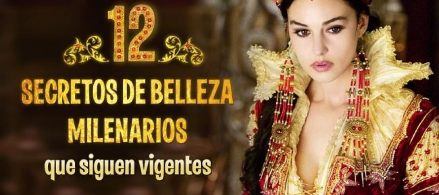 12 Secretos de belleza milenarios que se siguen utilizando
