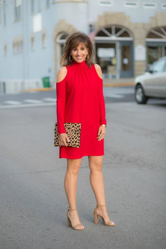 Vestidos casuales para señoras de 40 años
