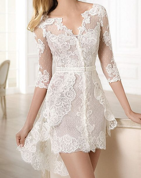 vestidos de boda de civil (18)   Decoracion de interiores Fachadas ...