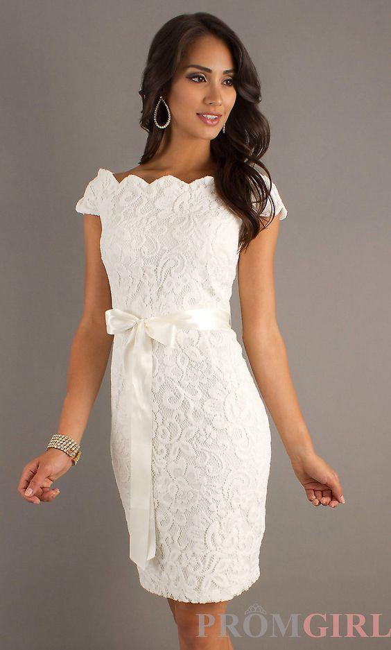 Vestidos para boda civil de encaje