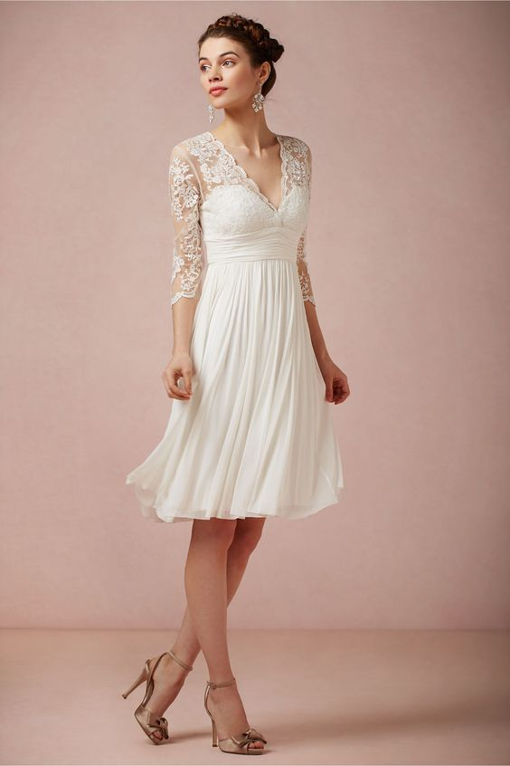 Vestidos de boda de civil | Decoracion de interiores Fachadas para ...