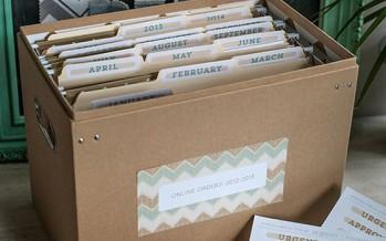 Como Organizar los Recibos
