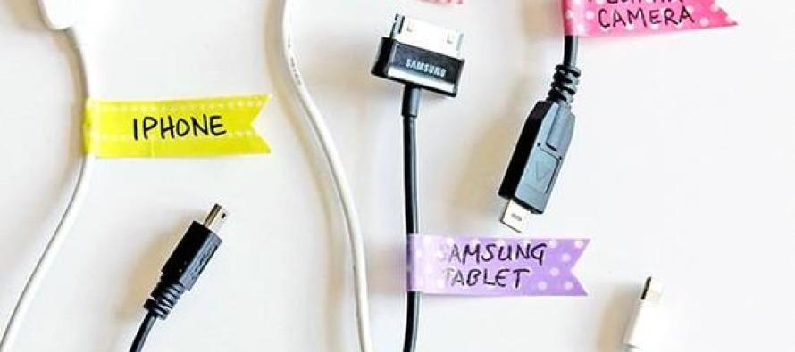 como organizar cables