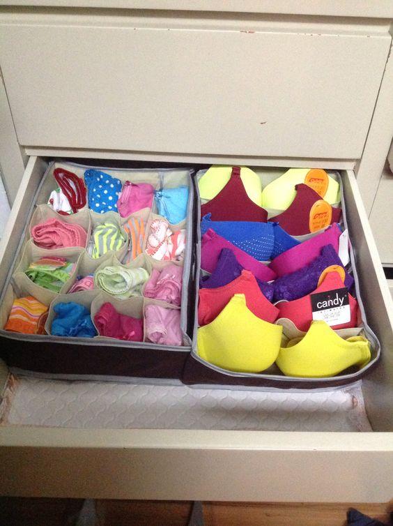 Como organizar cajones de ropa 3 - Organizador de ropa interior ...