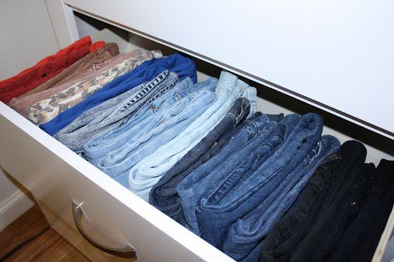 Como organizar la ropa - Organizar ropa interior ...