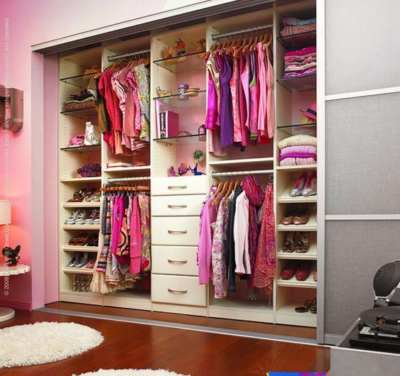 como organizar closet de mujer 4