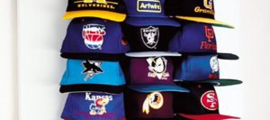 como organizar gorras