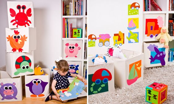 Como organizar los juguetes 11 - Organizar habitacion ninos ...