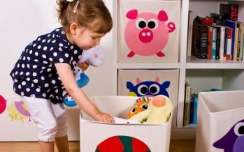 como organizar los juguetes