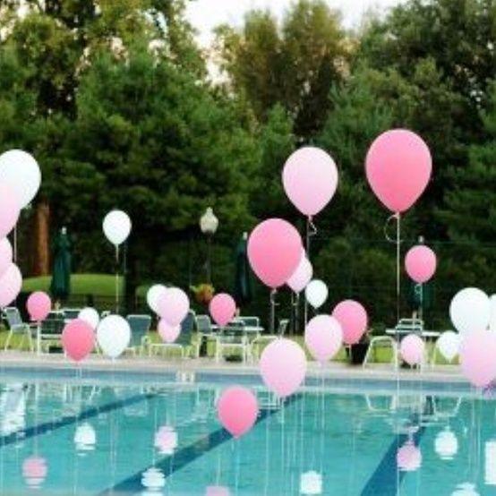 Como organizar una fiesta de albercas for Decoracion para albercas