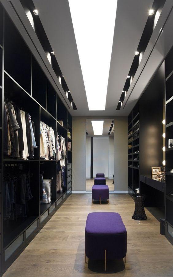 Como organizar walking closet 7 decoracion de for Banos modernos con walking closet
