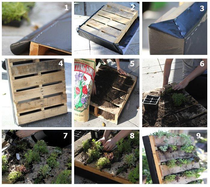 30 ideas para huertos caseros 13 decoracion de - Nebulizador casero para terraza ...