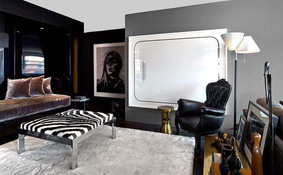 Decoracion de interiores con animal print