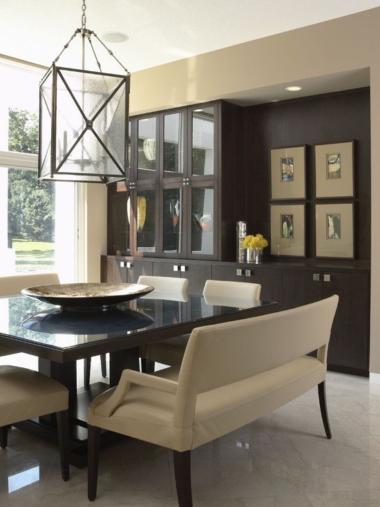 Comedores con bancas 6 decoracion de interiores for Fachadas de comedores