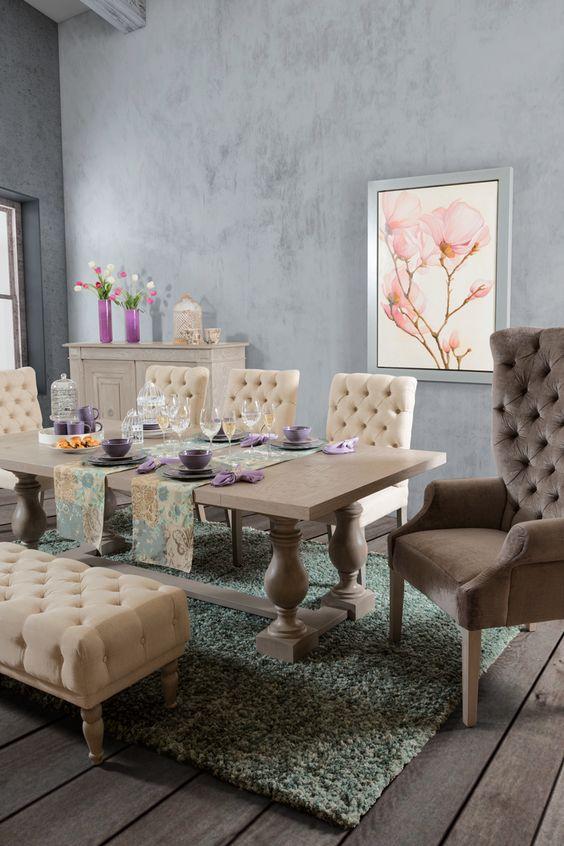 Comedores con bancas 7 decoracion de interiores for Fachadas de comedores