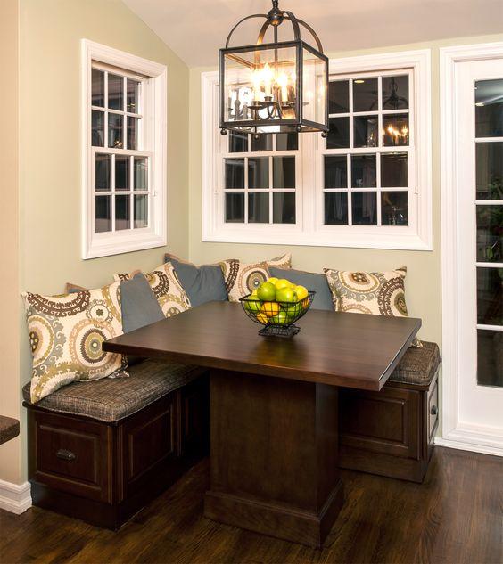 Kitchen Table Cafe >> Comedores esquineros (11) | Como Organizar la Casa | Fachadas | Decoracion de interiores | Ideas