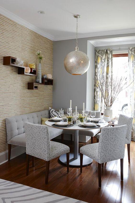 Comedores esquineros | Como Organizar la Casa | Fachadas ...