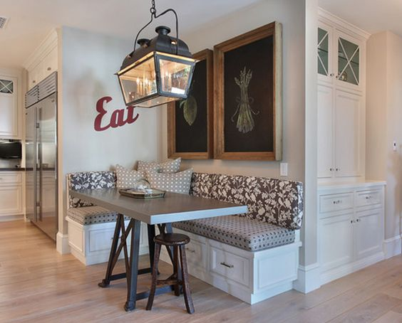 Comedores esquineros 9 decoracion de interiores for Comedores para casa