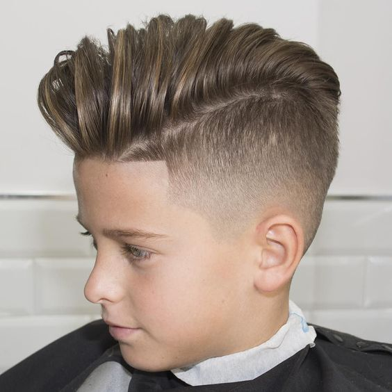 Cortes de cabello modernos para ninos 2016