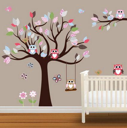 Decoracion con buhos para ni as 1 decoracion de for Decoracion de interiores para ninas