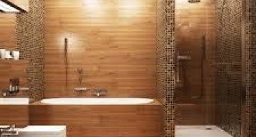Decoracion de baño con tina