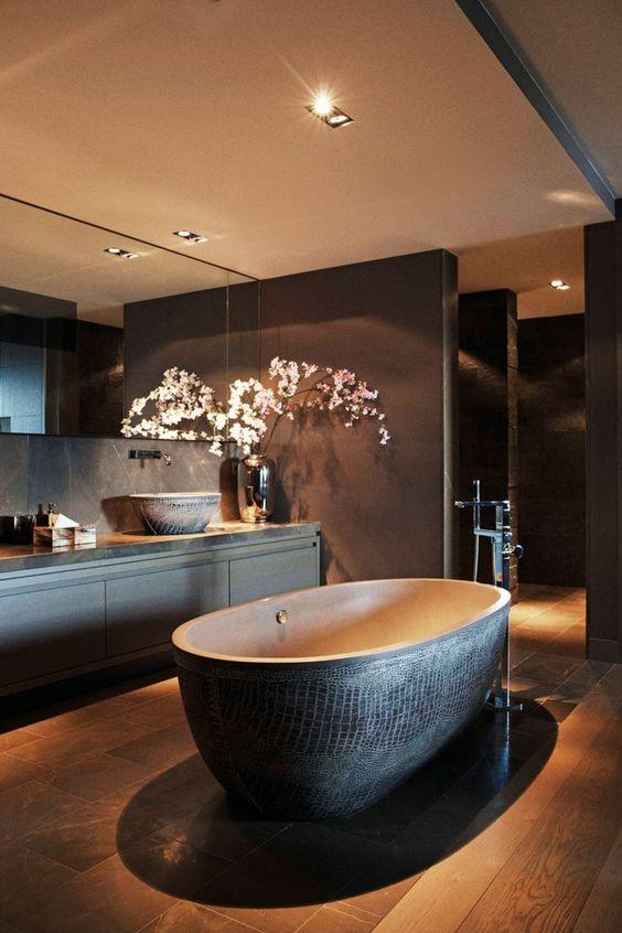 Decoracion Baños Tina:Decoracion de baño con tina (2)