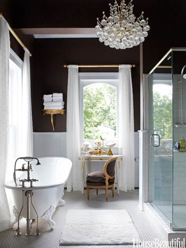 Decoracion Baño Con Tina:House Beautiful Master Bathroom